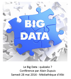 Big Data - Alain Dupuis